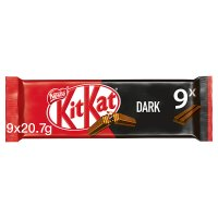 KitKat 2 Finger Dark Chocolate multipack