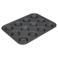 Waitrose Cooking 12 cup bun tray