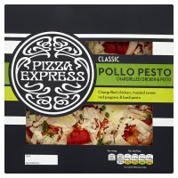 Pizza Express pollo pesto