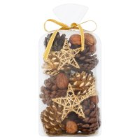 Waitrose Pinecone Potpourri Gold