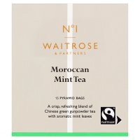 Waitrose 1 moroccan mint tea bags x15