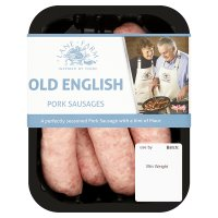 Lane Farm old English pork sausage