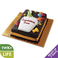 Chocolate Congratulations Cake