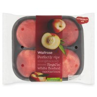 Waitrose Regal'in white fleshed nectarines