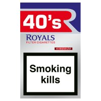 Rothmans Royals king size red cigarettes