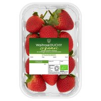 Waitrose DUCHY Organic Strawberries