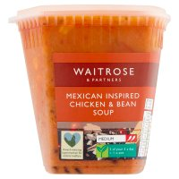 Waitrose LOVE Life mexican yucatan chicken soup