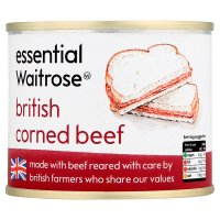 essential Waitrose British corned beef