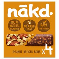 Nákd Peanut Delight Wholefood Bars