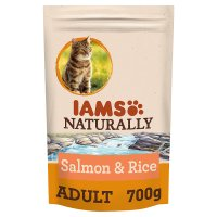 Iams Naturally with Salmon & Rice