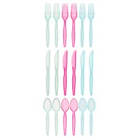 essential Waitrose 18 Piece Cutlery set