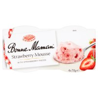 Bonne Maman Strawberry Mousse