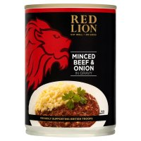 Red Lion Foods minced beef & onion