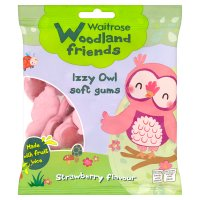 Woodland Friends Izzy owl soft gums strawberry flavour