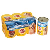 Pedigree can selection jelly with fish oil