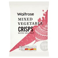 GOOD TO GO Mixed Vegetable Crisps with Sea Salt