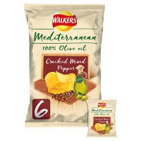 Walkers Mediterranean Cracked Mixed Pepper