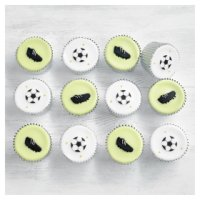 Fiona Cairns Football Cupcakes