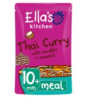 Ella's Kitchen Organic full of sunshine Thai curry with lots of veg - stage 3 baby food
