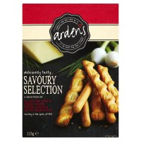 Arden's savoury selection
