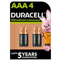Duracell Stay Charged Rechargeable Accu AAA batteries 800mAh