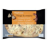 Waitrose Red Onion & Goat's Cheese Flatbread