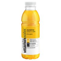 Glaceau Vitaminwater Sunshine plastic bottle