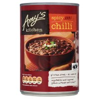 Amy's Kitchen spicy chilli gluten free
