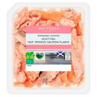 Waitrose kiln roasted Scottish salmon flakes