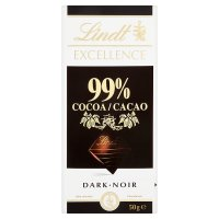Lindt Excellence dark noir 99% cocoa