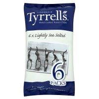Tyrrells potato chips lightly sea salted