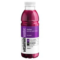 Glaceau Vitaminwater Revive plastic bottle