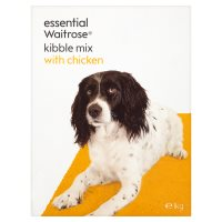 essential Waitrose kibble mix with chicken