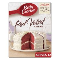 Betty Crocker red velvet cake mix