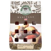 Heritage Variety potatoes