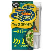 Blue Dragon Thai green curry 3 steps