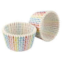 Tala rainbow graduated dot cupcake cases, pack of 32