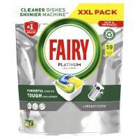 Fairy Platinum All in One Lemon 70 Capsules