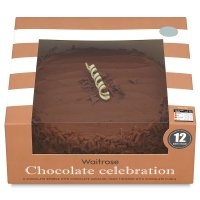 Waitrose Chocolate Celebration cake