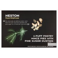 Heston from Waitrose Puff Pastry Mince Pies
