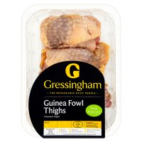Gressingham 4 Free Range guinea fowl thigh fillets