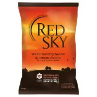 Red Sky bacon & cheese sharing crisps