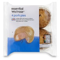 essential Waitrose pork pies