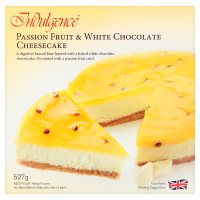 Indulgence Passion Fruit Cheesecake