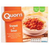 Quorn sweet & sour chicken image