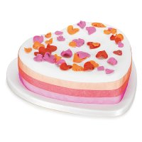 Fiona Cairns Flame Rose Petal Celebration Cake (Chocolate)