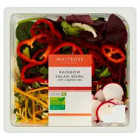 Waitrose Bright & Crunchy Rainbow Salad