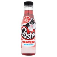 Crusha strawberry flavour milk shake mix