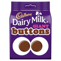 Cadbury Dairy Milk giant chocolate Buttons bag