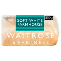Waitrose thick sliced soft white farmhouse